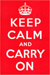 Keep Calm and Carry On, Orjinal posterin taranmış hali