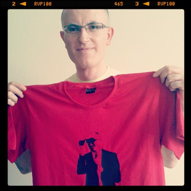 Vedat Buz'a t-shirt
