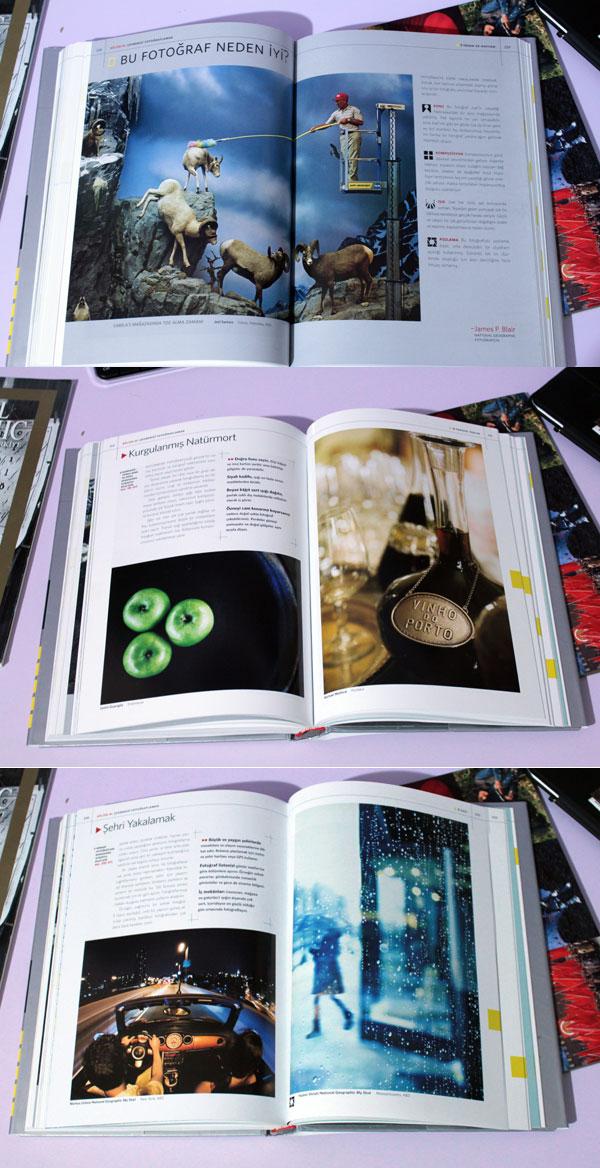 Ustalardan Fotografi kitabından bazı sayfalar.